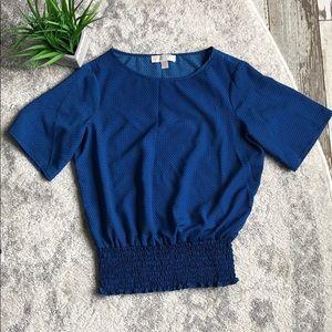 Michael Kors Royal Blue Blouse